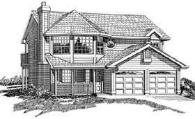 House Plan 55260