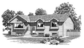 Traditional House Plan 55268 Elevation
