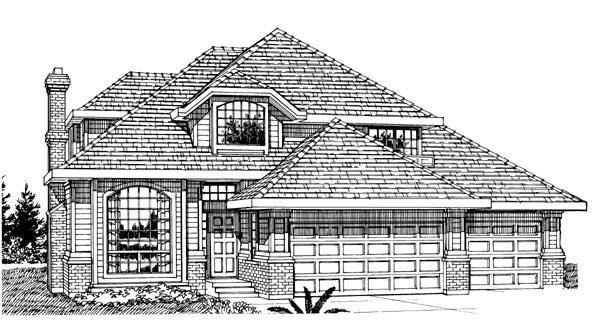 House Plan 55302