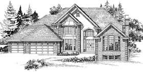 Plan Number 55357 - 4530 Square Feet
