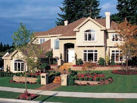 Mediterranean House Plan 55358 Elevation