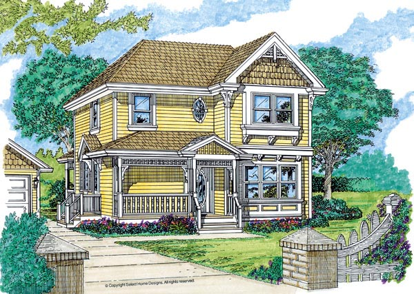 House Plan 55363 Elevation