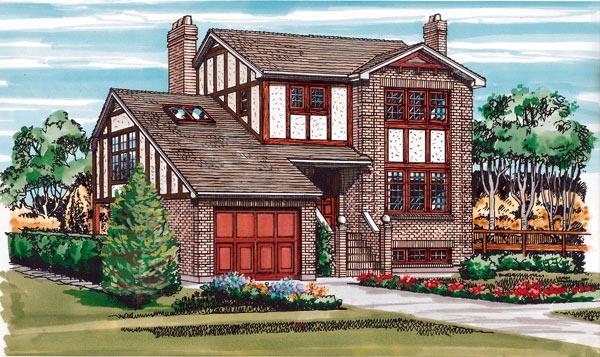 Craftsman House Plan 55427 Elevation