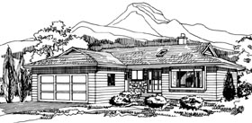 Traditional House Plan 55429 Elevation
