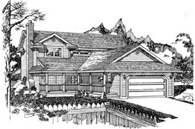 House Plan 55431