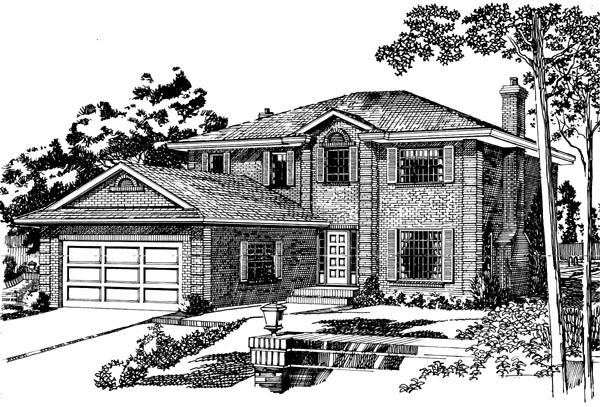 House Plan 55434