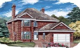 House Plan 55437
