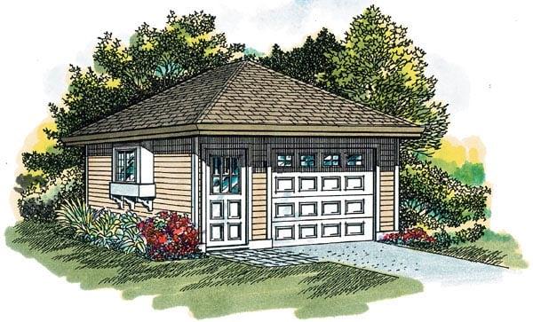 Garage Plan 55521