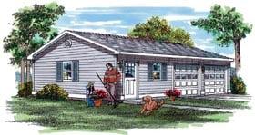 Garage Plan 55528