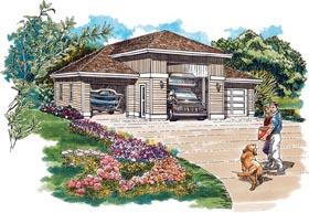 Garage Plan 55539
