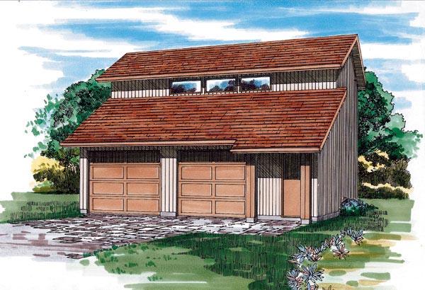 Garage Plan 55542