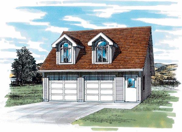 Garage Plan 55544