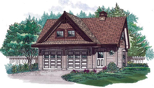 Tudor House Plan 55555 Elevation