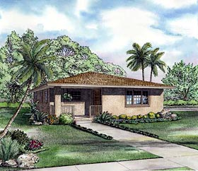 House Plan 55700