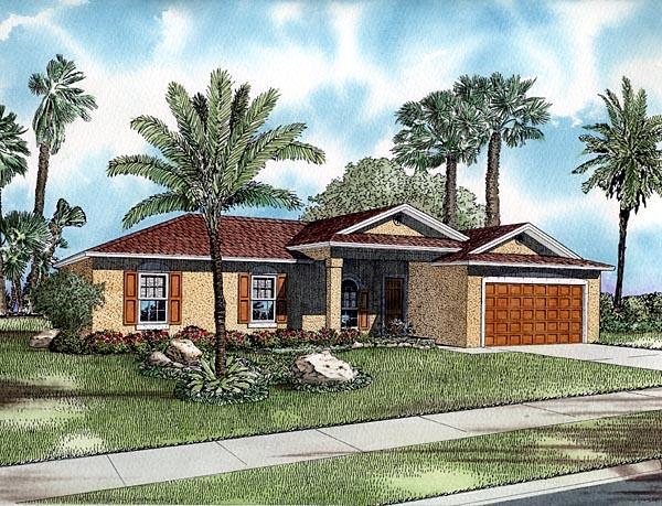 House Plan 55709