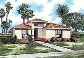 House Plan 55716 Elevation