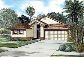 House Plan 55718 Elevation