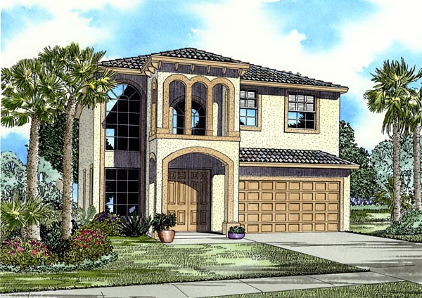 Florida House Plan 55723 Elevation