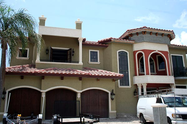 Italian, Mediterranean House Plan 55774 with 5 Beds, 7 Baths, 3 Car Garage Picture 4