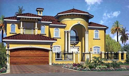 Mediterranean House Plan 55779 Elevation