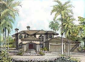 House Plan 55790