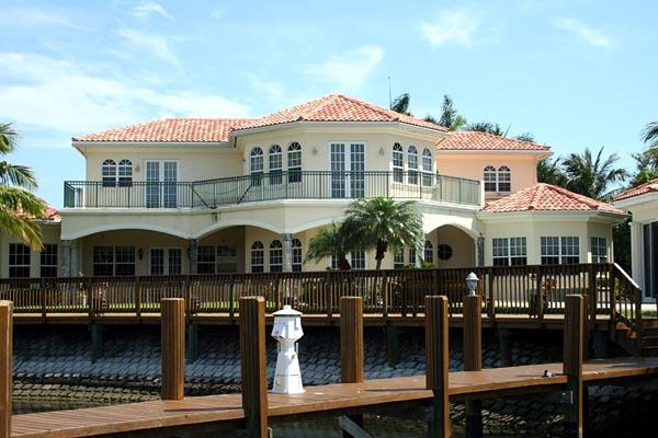 Mediterranean House Plan 55794