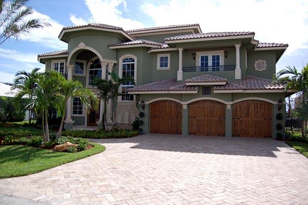 Mediterranean House Plan 55795