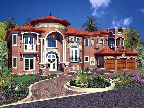 House Plan 55802 At
