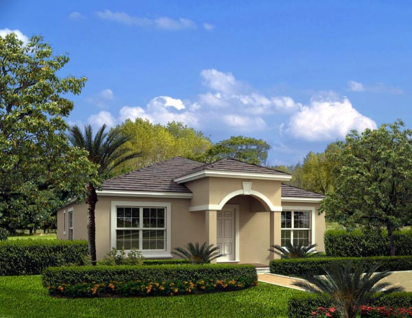 House Plan 55812