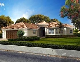 Florida House Plan 55825 Elevation