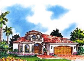House Plan 55834 Elevation