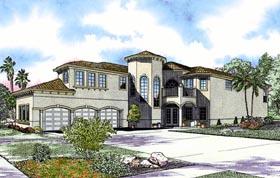 Mediterranean House Plan 55848 Elevation