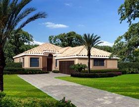 House Plan 55861 Elevation