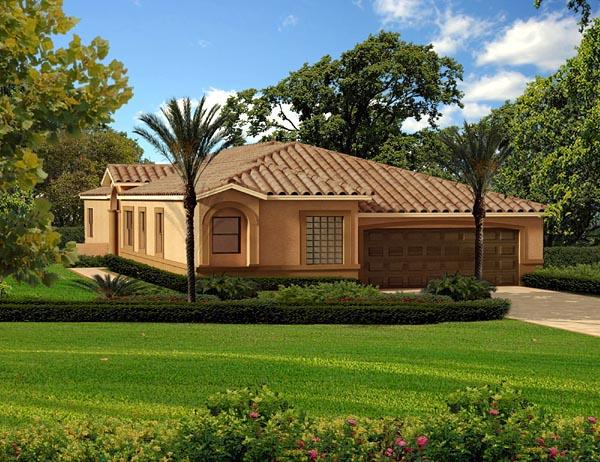 Florida House Plan 55872