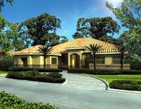Florida House Plan 55887 Elevation