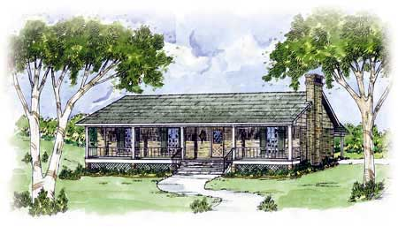 Country House Plan 56027 Elevation