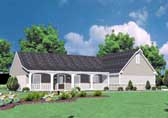 Plan Number 56041 - 1423 Square Feet