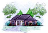 Plan Number 56043 - 1444 Square Feet