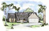 Plan Number 56048 - 1421 Square Feet