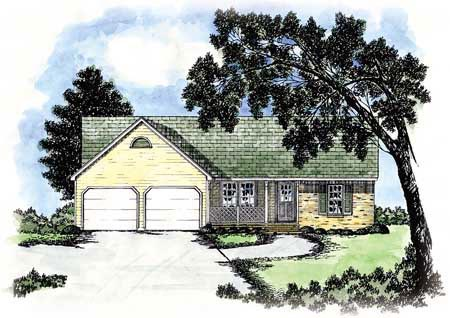 Country House Plan 56050 Elevation