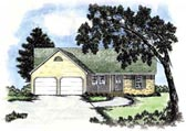 Plan Number 56050 - 1459 Square Feet