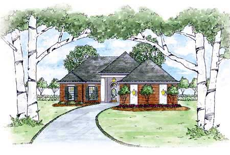 House Plan 56069 Elevation