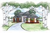 Plan Number 56069 - 1494 Square Feet