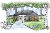 Plan Number 56070 - 1414 Square Feet