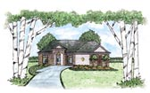 Plan Number 56072 - 1437 Square Feet