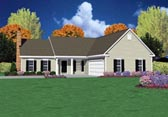 Plan Number 56077 - 1502 Square Feet