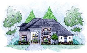 Plan Number 56081 - 2895 Square Feet
