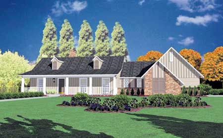 Country House Plan 56096 Elevation