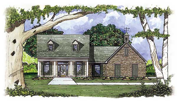 Country House Plan 56112 Elevation