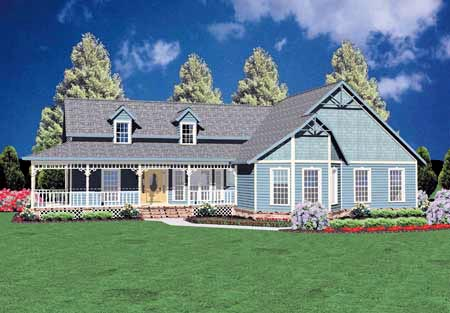 Country House Plan 56127 Elevation